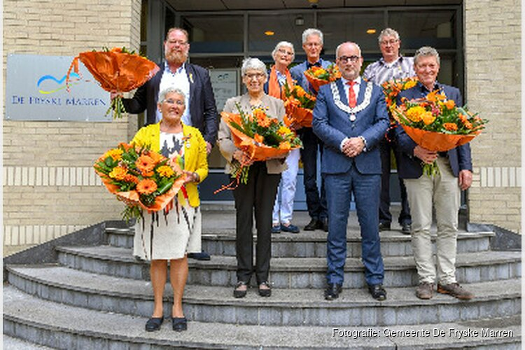Het regent lintjes in De Fryske Marren