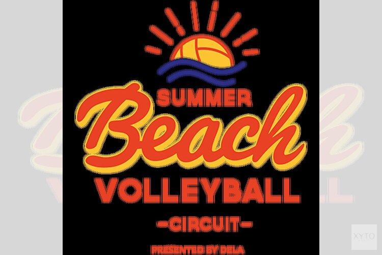 Beach Volleyball Circuit 2018 op strand Lemmer
