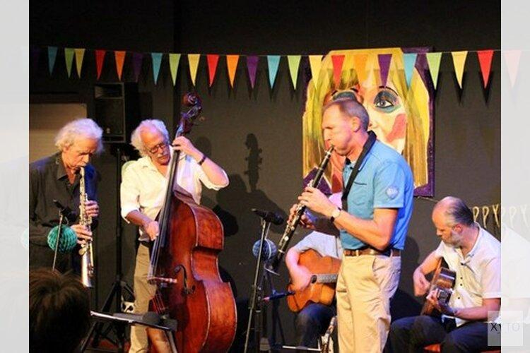 Jazz in Lemmer: Quatre Tickets bij Lange Piet