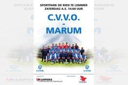 Gewijzigde aanvangstijd CVVO - Marum