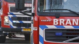 Forse brand bij woning in Rutten