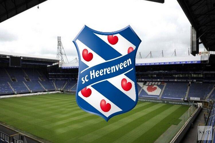 Olde Riekerink op non-actief bij SC Heerenveen