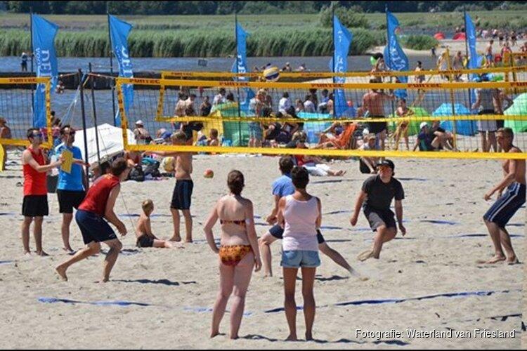 Beach Volleyball Circuit 2019 op strand Lemmer