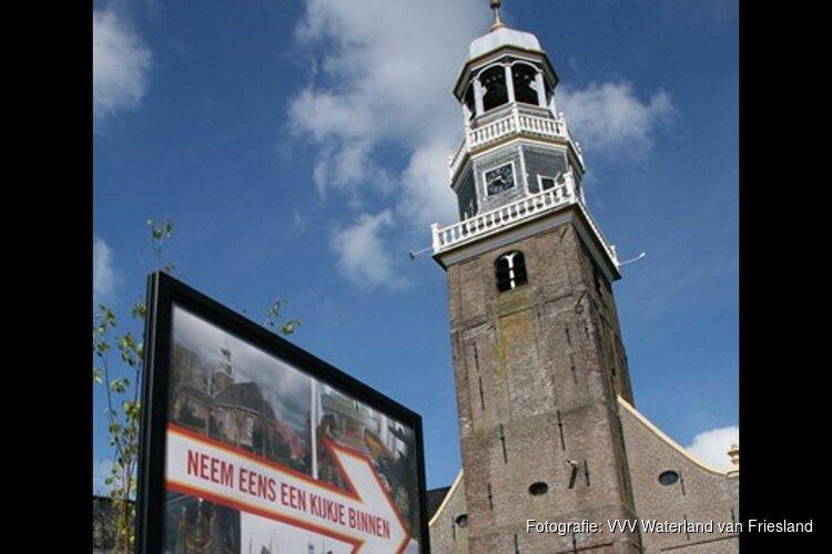 Muziek en cultuur in de kerk van Lemmer tijdens Tsjerkepaad