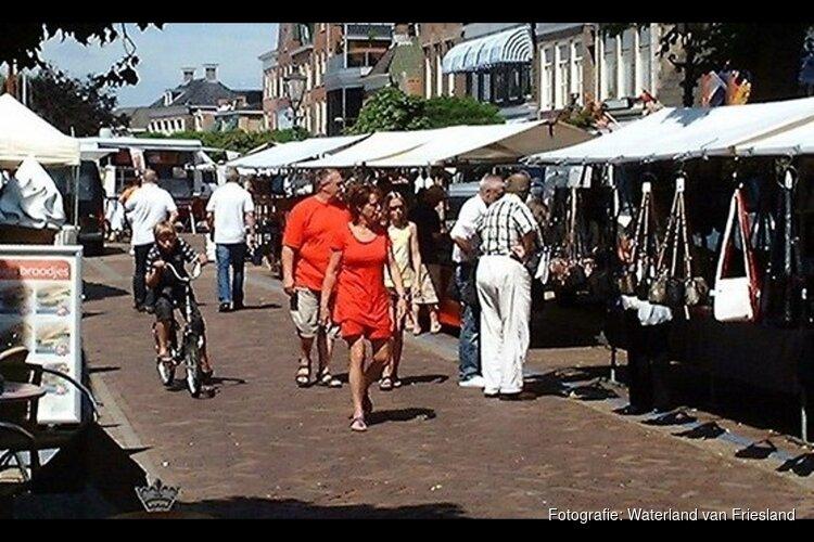 Duitse zomermarkt in Lemmer