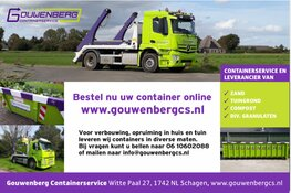 Gouwenberg Containerservice is online!