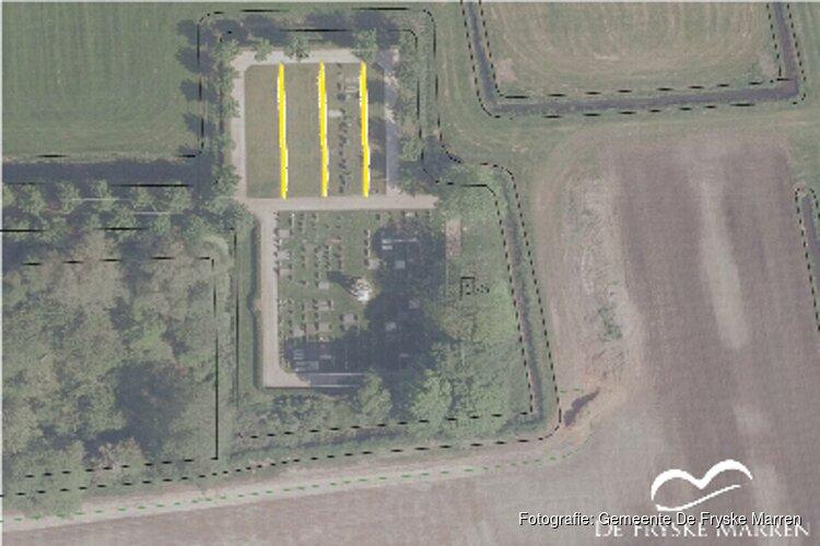 Verbeteren toegankelijkheid tussenpaden begraafplaats Bantega