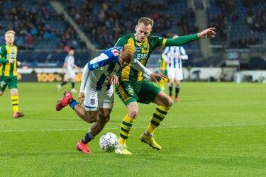 SC Heerenveen en ADO Den Haag delen de punten
