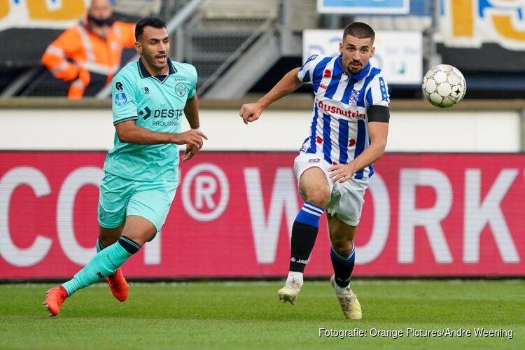 Droomstart voor Heerenveen, Willem II geklopt