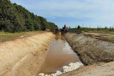 Nieuwe watergang voor Balk-Zuid